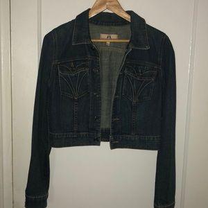 Juicy couture crop Jean jacket